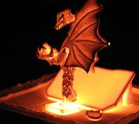 Drachengeburt (Figur glüht)